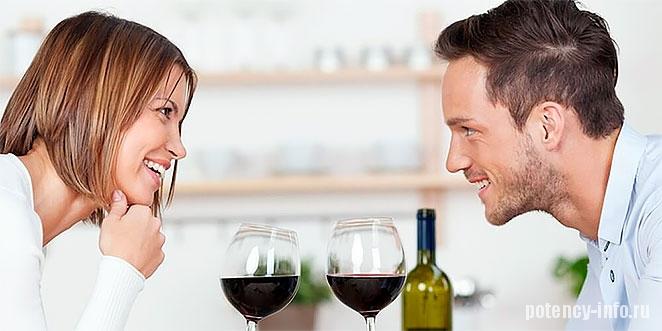 Увеличивает ли потенцию алкоголь