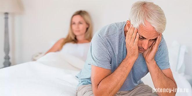 Первые признаки и лечение полового бессилия у мужчин